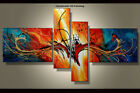 Framed Large Wall Art Handmade Canvas Modern Abstract Oil Painting Decor Abs064