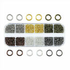 1 Box Iron Jump Rings Close Unsoldered Loop Findings 6 Color Box Kits Pick 4~8mm