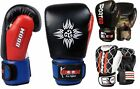 BooM Boxing Gloves MMA Training Sparring Muay Thai Fight Punch Bag Pads Wraps