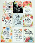Hang Tags  INSPRIATIONAL SPIRITUAL CHRISTIAN BIBLE VERSE QUOTES #T 40 Gift Tags