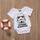US Star Wars Toddler Newborn Baby Girl Boy Storm Pooper Romper Jumpsuit $6.38 USD