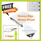 Heavy Duty Silve Poly Tarp Cover -Thick Waterproof, UV Resistant , Free Shipping