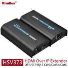 HDMI repeater HDMI extender 120m(393ft) by Rj45 cat5/cat5e/cat6 support 1080P
