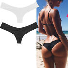 Внешний вид - Womens Bikini Brazilian Cheeky Bottom Thong V Swimwears Swimsuits Panties Briefs