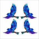 3M Graphics Flying Floral Bird Decals for Walls and Windows Car Laptop Decor