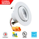 "2"" LED Downlight Trim - 9W 3000K Dimmable Recessed Light - G"