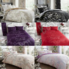 2018 New Designs Duvet Covers Bed Set with Pillow Cases Single Double King Sking