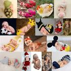 Newborn Baby Girls Boys Crochet Knit Costume Photo Photography Prop Outfits Cute