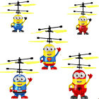 Despicable Me Minions Aircraft Superman Induction RC Helicopter LED Rechargeable