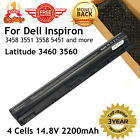 New 14.8V 40Wh Replace M5Y1K Battery for Dell Inspiron-3451-3551-3458-3558 K185W