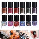 6/9ml Born Pretty Holographic Glitter Nail Art Polish Stamping Printing Varnish