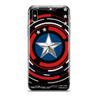 Avengers Marvel Cartoon Pattern Phone Case Cover For iPhone Samsung Motorola LG