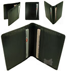 Leather Slim Compact 10 Credit Card Holder Wallet in 3 colours