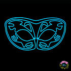 Glowing Stag Pattern Mask - for Carnival festival Fancy Dress Party