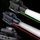 Combo Green/RED Laser Sight&CREE Q5LED Flashlight 20mm Rail For Pistol Gun Rifle