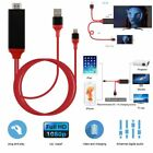 Lightning to HDMI Cable HDTV TV Digital AV Adapter for Apple iPhone 5/6/7