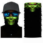 Skull Cycling Motorcycle Scarf Neck Warmer Face Mask Balaclava Bandana Headband