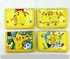 UK Seller Kids Pokemon Wallet Boys  Coin Bag Zip Purse
