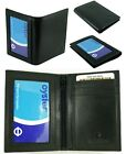Leather Travel Bus Oyster Pass Card Holder with Twin ID Windows