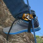 Left & Right Foot Ascender Riser Rock Climbing Mountaineering Equipment LN