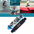 Maple Skate Board Double Rocker 4 Wheels Skateboard Scooter Dancing Longboard LN