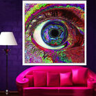 4 Types Cosmos System Psychedelic Tree Art Silk Cloth Poster Home Wall Decor