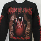 CRADLE OF FILTH Cruelty And The Beast Long Sleeve T-Shirt Size S M L XL 2XL 3XL