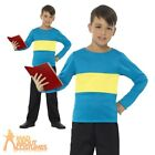 Child Horrible Henry Costume Boys Girls Book Week Day Fancy Dress Outfit Kids