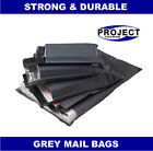 All Sizes 60mu Grey Mailing Bags Postal Postage Post Mail 6x9 9x12 10x14 17x24