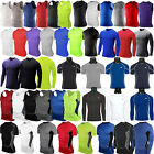 Mens Compression Under Shirt Base Layer Tight Tops Gym Sports Athletic T-Shirt image