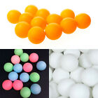 where can you buy ping pong balls - 10/30X 40mm Olympic Table Tennis Balls Ping Pong Balls White Orange Colorful WL