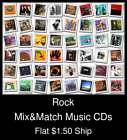Rock(1) - Mix&Match Music CDs U Pick *NO CASE DISC ONLY*