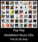 Pop Rap(1) - Mix&Match Music CDs U Pick *NO CASE DISC ONLY*