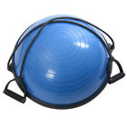 """Balance Ball 23"""" with Resistance Bands & Pump Balance Trainer Exercise"""