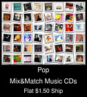 Pop(14) - Mix&Match Music CDs U Pick *NO CASE DISC ONLY*