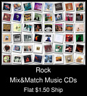 Rock(15) - Mix&Match Music CDs U Pick *NO CASE DISC ONLY*