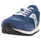 Saucony Jazz Original Vintage Kids Navy Silver Walking Trainers New Style