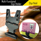 Внешний вид - Multiple Function Store Price Label Sign Card Holder Clip Clamp Stainless Steel