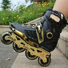 Single-row Roller Skates Professional Adult Inline Skates For Men And Women SW