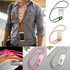 2PC Universal Cell Phone Strap Neck Hanging Lanyard Stretchy Silicone Phonestrap