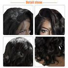 Hot Fashion Long Curly Side Part Lace Front Synthetic Full Wigs Gift Women