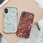 Flower Ultrathin TPU Leather Shockproof Back Case Cover For Apple iPhone X 6 7 8