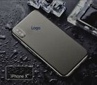 For iPhone X/8/7/6 S Plus Metal Effect Body Skin Sticker Wrap Decal Product USA