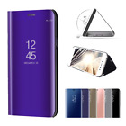 Clear View Smart Mirror Leather Case For Samsung Galaxy S8 S9 / S9 Plus S7 Edge