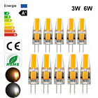 Dimmable Mini G4 COB LED Lamp 3W 6W Light Bulb AC/DC 12V Warm /Cold White