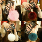 Phone Anyway a lest Cover Hand & IPhone Shiny Furry Chain Ball Series For Bracelet Bling