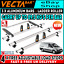 (SWB L1 LOW H1) 3 x Vecta Van Roof Rack Bars + Roller Peugeot Expert 2007-2016