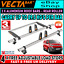 (L2 H1 M) 2 x Vecta Van Roof Rack Bars + Roller Citroen Dispatch 2016,2017,2020