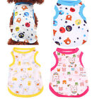 Lovely Summer Pet Dog Clothing Apparel Cat Puppy Cotton Vest T-shirt Clothes