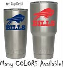 Buffalo Bills Football Decal for NFL YETI Tumbler 20 30 Ozark RTIC Sticker $2.24 USD on eBay